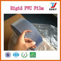 100% durable embossed for food translucent pvc film