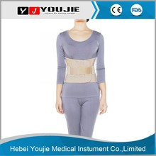 double pull abdominal lumbar waist corset back support with velcro closure