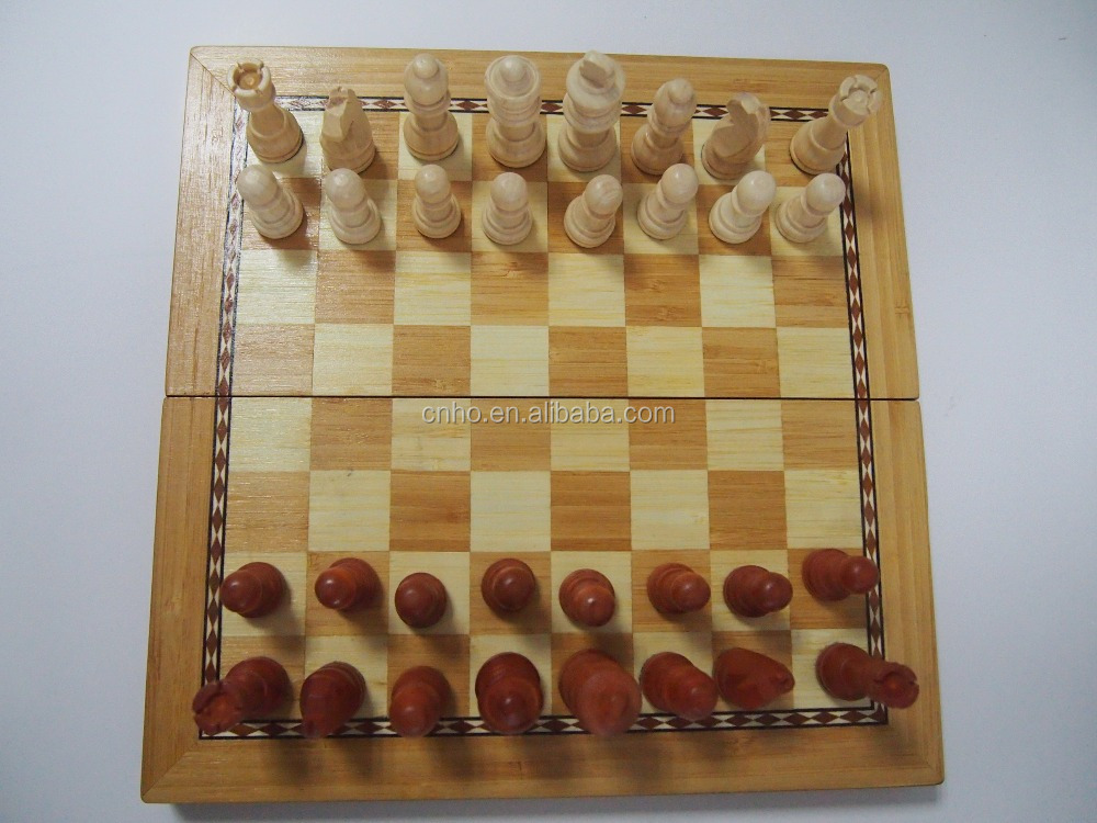 New design bamboo chess board chess game buy adult chess Where can i buy a chess game