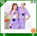 de alta calidad de las mujeres de los hombres de los animales patrón pijamas cómodos para la pareja