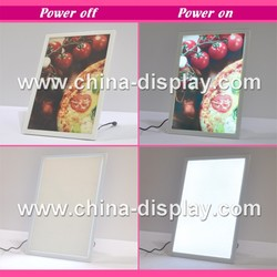 2015 new product acrylic led photo picture frame poster frame for advertising