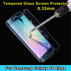 Lower price Newest premium 2.5D tempered glass screen protector for samsung galaxy S6 edge