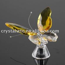 crystal butterfly wedding favor