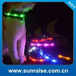 good quality pet dog products led pet collar leash