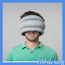 2015 High quality portable ostrich pillow/nap travel pillow/neck ostrich pillow