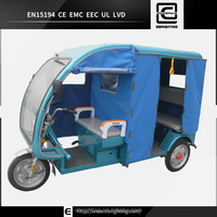 48V 800W electric tuk tuk for sale /electric passenger rickshaw/auto rickshaw for sale