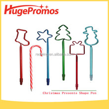 Coustom Christmas Presents Shape Pen for Promotional Gifts