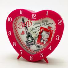 Heart shape cheap alarm clock