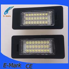 5w canbus led license plate light lamp for BMW E39 E60 E82 E88 E90