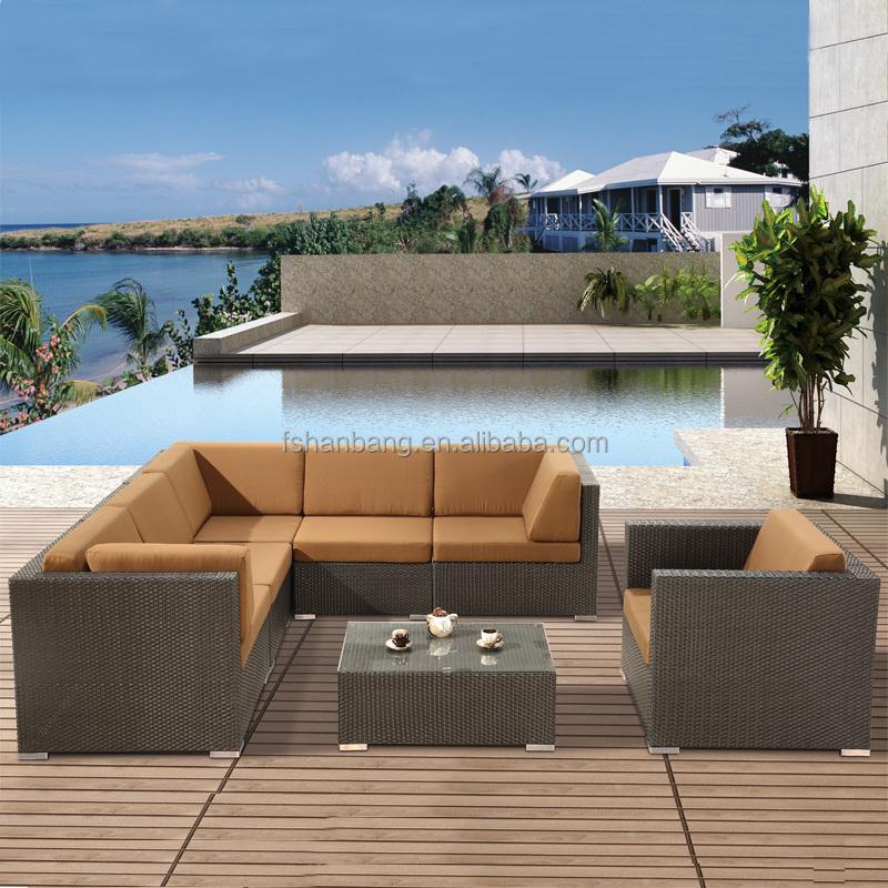 Calidad premium moderno esquina seccional del sof vector for Sofa exterior esquina