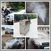 CE 20 bar gas eco vapor mobile steam car wash steam machine