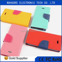 Mercury case dual color case mobile phone cover for samsung galaxy NOTE2 flip case