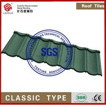 DECORATIVE STONE COATED METAL VILLA ROOF TILE\COLOURFUL STONE COATED STEEL ROOF ROOF SHEET/LUXURY METAL ROOFING