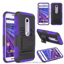 Stand Rack Mobile Phone Case Cover Back for Moto G3