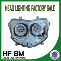 Bajaj Pulsar 180 Motorcycle Headlight/Motorcycle Double LED Headlight
