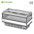 Congelador horizontal/Supermercado Isla Congelador