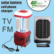 2015 Hot sell CHL handi solar lantern with TV and fm radio