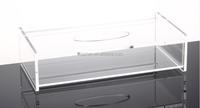 Creative Transparent Tissue Box Clear Napkin Holder Lovely Acrylic Rectangular Holder Box Cover