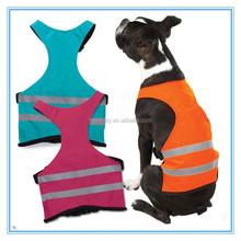 EN20471 comfortable dog harness safety vest high visibility vest for dogs