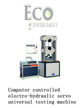 EI-003 Computerized electro-hydraulic servo universal testing machine