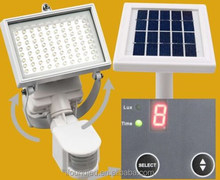 80 LED Solar Power Motion Activated Waterproof Outdoor Path Security Flood Light