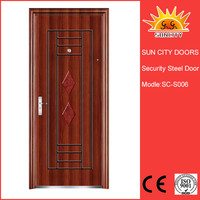 Swedish security wrought iron door grill designs SC-S006