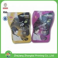 Aluminum Foil Shaped pouch, doypack, stand up bag with zipper