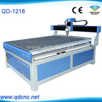 for sale cnc router / 3D cnc engraving machine 1200*1800mm QD-1218 cnc aluminum carving machine / 1218 wood engraving machine