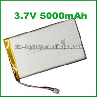 rechargeable pristmatic 5000mAh 3.7v lithium ion polymer battery for barcode scanner