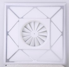 36W square LED panel light with ceiling fans(air outlet)