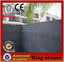 Fuding Black granite G684 chiselled surface