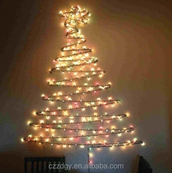 Programmable Led Christmas Light Chain 10m 100 Led String Light Multicolor Led Christmas Tree ...