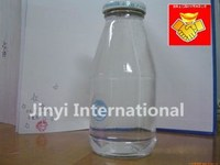 exported small cheap glass milk bottle