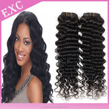 2015 new arrival full cuticle untreated thick bottom Cambodian deep curly virgin hair