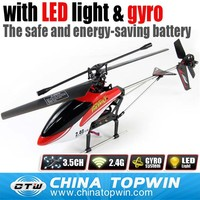 2.4G 3.5ch single propeller rc yiboo helicopters toy for adult