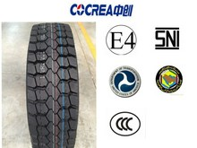 driving wheel tires with excellent tread formula and abrasion resistance 12r22.5