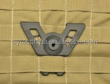 airsoft gear attachment for gun holster and magzine pouch