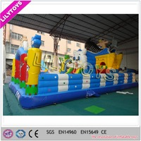Hot sale Inflatable large fun city, inflatable amusement park for kids
