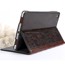 OEM/ODM Manufacture flip design book style 8-inch tablet leather case