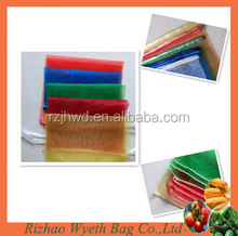 mono knitted netting produce bags