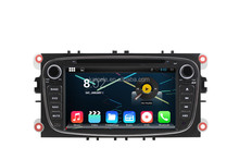 7 inch double din car dvd player android navigation for ford focus suppor 3G WIFI BT OBD Mirror Link