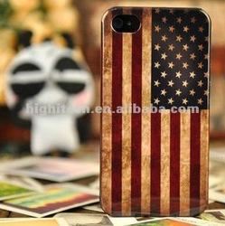 The United States US Flag Hard Cover For iphone 4 4s