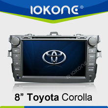 """8""""in dash touch screen car 3G Multimedia trading company for toyota corolla"""