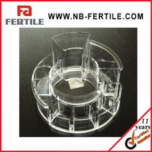 CXL 423224 Round shape Acrylic injection makeup organizer / lipstick organizer