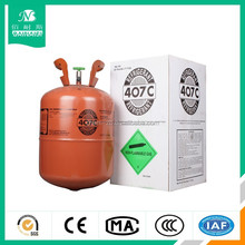 R407. refrigerant gas R407c, 25lb R407c with low price,99.9% purity.R134a/R404a/R