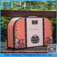 Customized High Quality Tin Bag Shaped Packaging Boxes Mental Cosmetic Boxes Tin Container With Handle