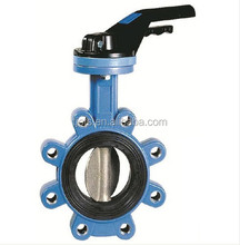 API 609/Awwa Cast Steel & Iron Wafer Butterfly Valve