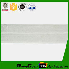 Factory supply custom colored 1 inch fold over elastic