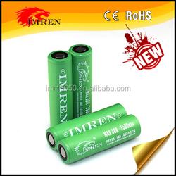 Hot Imren 18650 Rechargeable Battery IMREN 18650 3.7v 3500mah 30a discharge cells imren 18650 3500mah 30a recharg