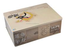 Round, square, irregular packing tin box